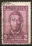 Sellos del Mundo : America : Argentina : Esteban Echeverría (escritor).