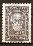 Sellos del Mundo : America : Argentina : XXI.Congreso Internacional de Ciencias Fisiológicas. Los científicos médicos. Ivan P. Pavlov.