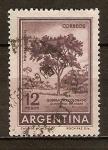 Sellos del Mundo : America : Argentina : Árbol de quebracho colorado.