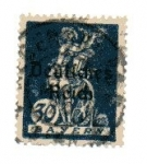 Stamps : Europe : Germany :  Bavaria