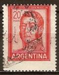 Sellos del Mundo : America : Argentina : General José de San Martín.