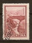 Sellos del Mundo : America : Argentina : Mendoza.Puente del Inca.