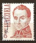 Sellos de America - Venezuela -  Símon Bolívar.