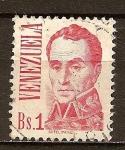 Sellos del Mundo : America : Venezuela : Símon Bolívar(a).