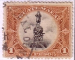 Sellos de America - Guatemala -  Monumento a Cristobal Colón