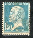 Stamps Europe - France -  Republique Francaise . Postes.Pasteur.