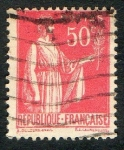 Stamps Europe - France -  Republique Francaise . Postes.