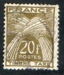 Sellos del Mundo : Europa : Francia :  Taxe