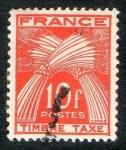 Sellos de Europa - Francia -  Taxe