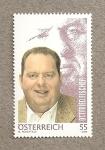 Stamps Austria -  Ottfried Fischer, , llega al corazón de los televidentes