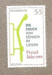 Sellos de Europa - Austria -  150 Aniversario  del nacimiento de Freud