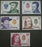 Stamps of the world : Spain :  REYES DE ESPAÑA, CASA DE AUSTRIA