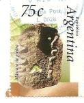 Stamps Argentina -  Mascara de piedra