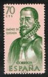 Sellos del Mundo : Europa : España : 1455-  Forjadores de América. Gonzalo Jiménez de Quesada.