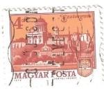sellos de Europa - Hungría -  magyar posta 4 gf