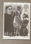 Stamps United Kingdom -  Personajes Jane Eyre