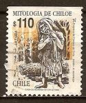 Sellos del Mundo : America : Chile : Mitología. La Pincoya.