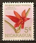 Sellos del Mundo : America : Nicaragua : Impuesto obligatorio. Orquídeas de Nicaragua.