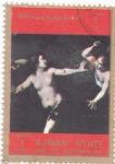 Sellos de Asia - Emiratos Árabes Unidos -  pintura-desnudos