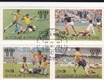 Sellos de Africa - Santo Tomé y Principe -  mundial-Argentina-78