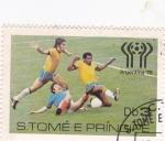 Stamps São Tomé and Príncipe -  mundial-Argentina-78