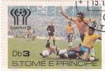 Sellos del Mundo : Africa : Santo_Tomé_y_Principe : mundial-Argentina-78