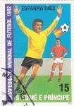 Stamps São Tomé and Príncipe -  mundial-España-82