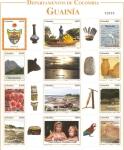 Stamps Colombia -  DEPARTAMENTOS   DE   COLOMBIA