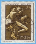 Stamps : Europe : Italy :  Caravaggio 1573 - 1610