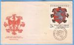 Stamps : Europe : Czechoslovakia :  FDC  Prazsky Hrad