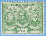 Stamps : America : Peru :  IV Centenario Universidad de San Marcos