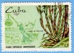 Sellos del Mundo : America : Cuba : Caña de Azúcar