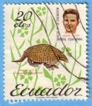 Stamps : America : Ecuador :  Misioneros de la selva oriental ecuatoriana