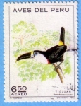 Stamps : America : Peru :  Aves del Perú - Tiojuan