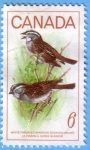 Stamps : America : Canada :  White-Throated Sparrow