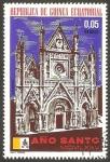 Stamps Equatorial Guinea -  Año Santo MCMLXXV