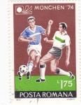 Stamps Romania -  munich-74