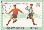 Stamps North Korea -  futbol