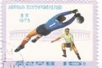 Stamps North Korea -  futbol