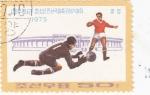 Sellos de Asia - Corea del norte -  futbol