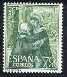 Stamps Spain -  1464- Misterios del Santo Rosario.