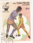 Stamps Cape Verde -  mundial-España-82