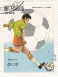 Sellos de America - Nicaragua -  mundial-España-82