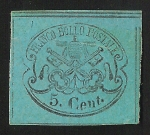 Stamps Italy -  Papal Arms
