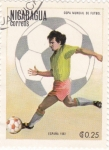 Stamps Nicaragua -  mundial-España-82