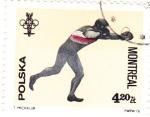 Stamps Poland -  MONTREAL-76  -boxéo
