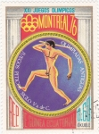 Stamps : Africa : Equatorial_Guinea :  MONTREAL 76- Olimpiadas antiguas
