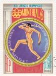 Sellos de Africa - Guinea Ecuatorial -  MONTREAL 76- Olimpiadas antiguas