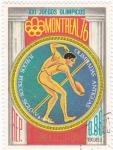 Stamps Equatorial Guinea -  MONTREAL 76- Olimpiadas antiguas