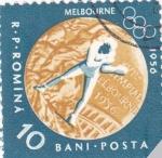 Stamps Romania -  MELBOURNE 1956